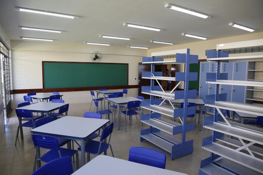 As aulas curriculares presenciais seguem suspensas. Foto: Reprodução/Arquivo/AEN