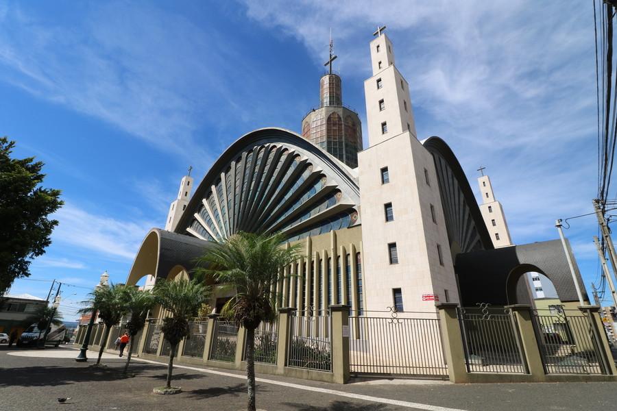 Catedral Sant'Ana de Ponta Grossa. Foto: Divulgação / Arquivo aRede