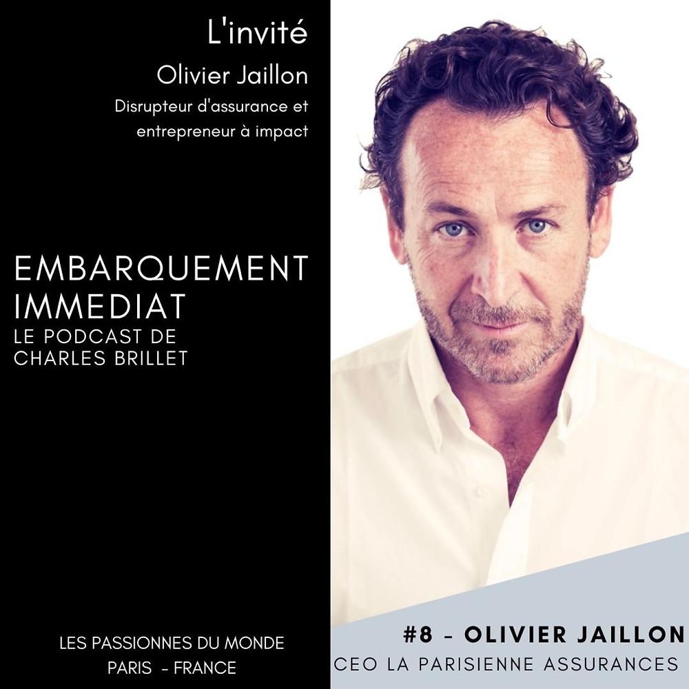 l'interview d'olivier jaillon CEO la parisienne assurance