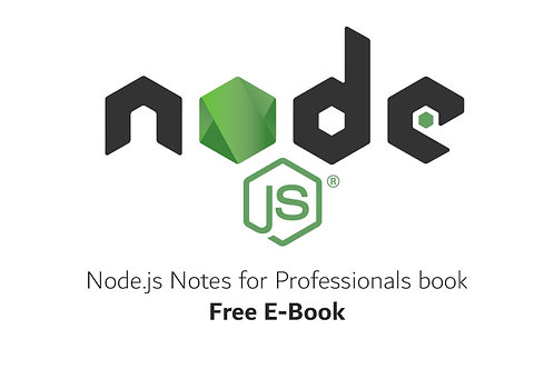 Node.js Notes for Professionals book
