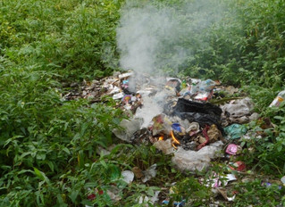Waste burning and toxic soil formation in urban areas
