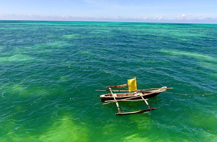 Zanzibar boat called dau