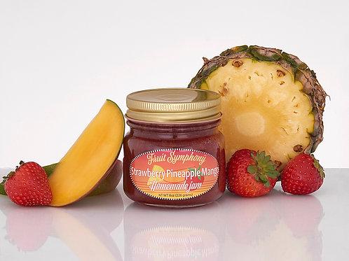 Strawberry Pineapple Mango Jam