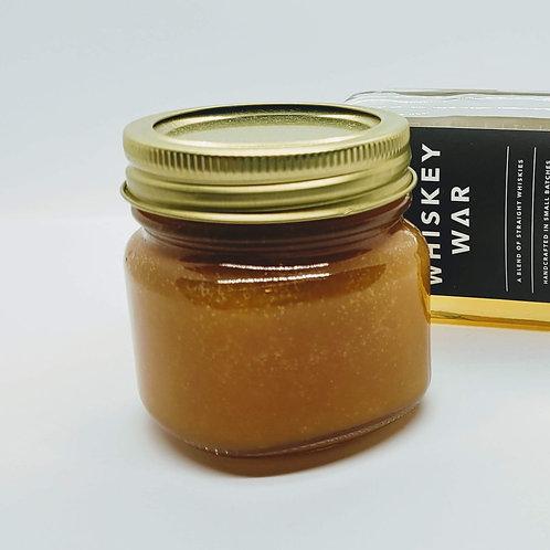 Maple Peach Whiskey Jam