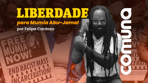 Liberdade para Mumia Abu-Jamal