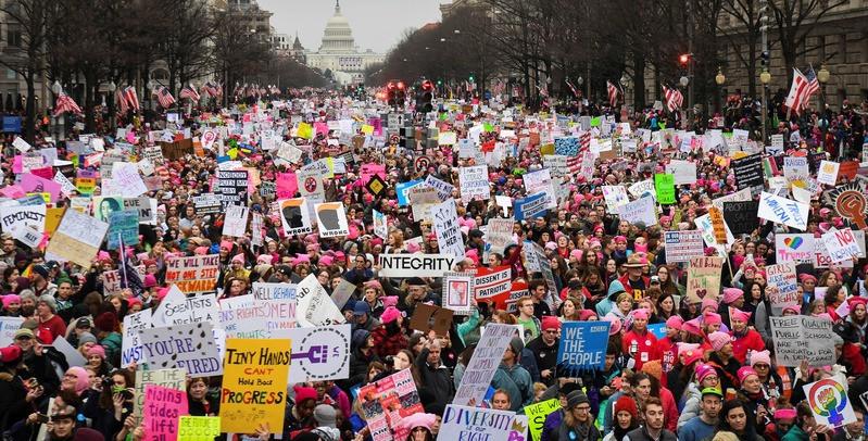 Marcha das mulheres contra Trump