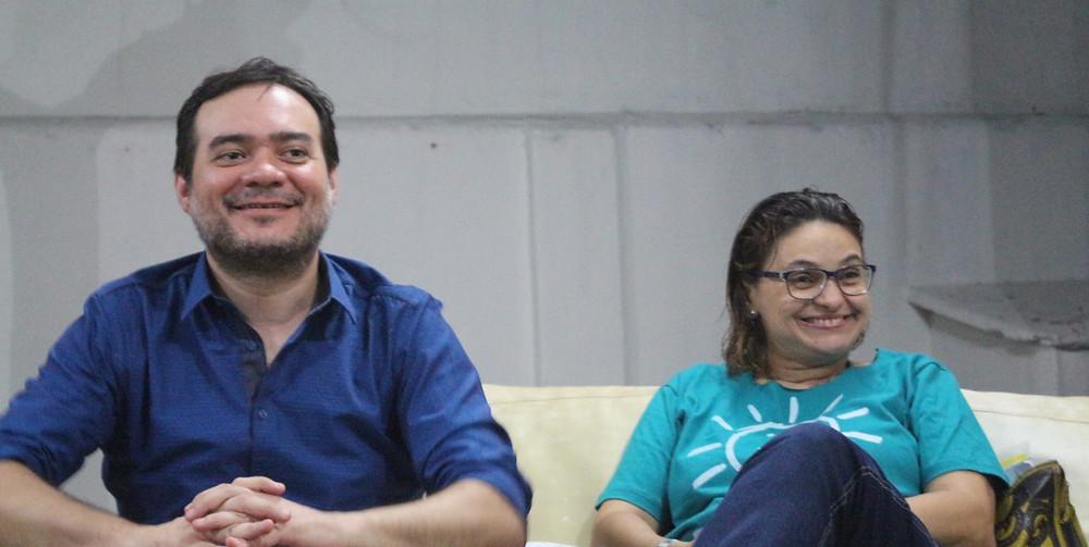 Ailton Lopes e Anna Karina Cavalcante apreentam pré-candidatura ao Governo do Ceará pelo PSOL