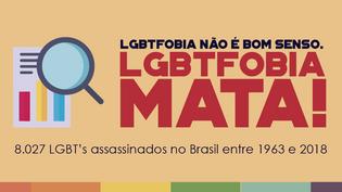LGBTFOBIA NÃO É BOM SENSO. LGBTFOBIA MATA!