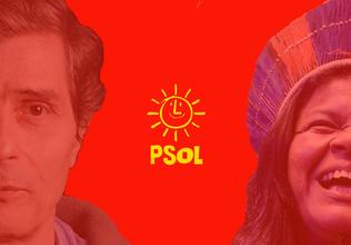 Sônia Guajajara e Plínio Jr. para representar o PSOL em 2018