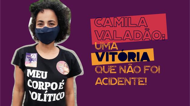Camila Valadão: uma vitória que não foi acidente!