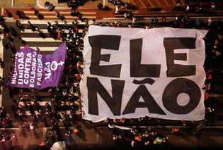 #EleNão #EleNunca #EleJamais: Mulheres Brasileiras contra o Fascismo