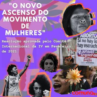 O novo ascenso do movimento de mulheres