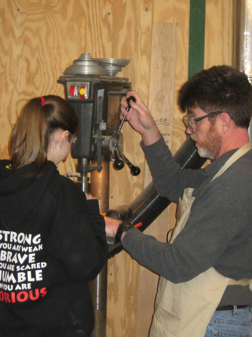 Teaching kids safety and proper use of tools