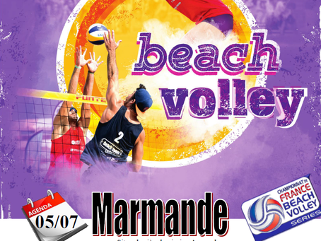 France Beach Série 3 à Marmande !