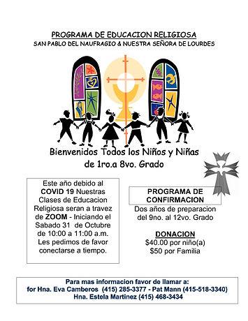 ccd flier.2020-2021 spanish-1.jpg