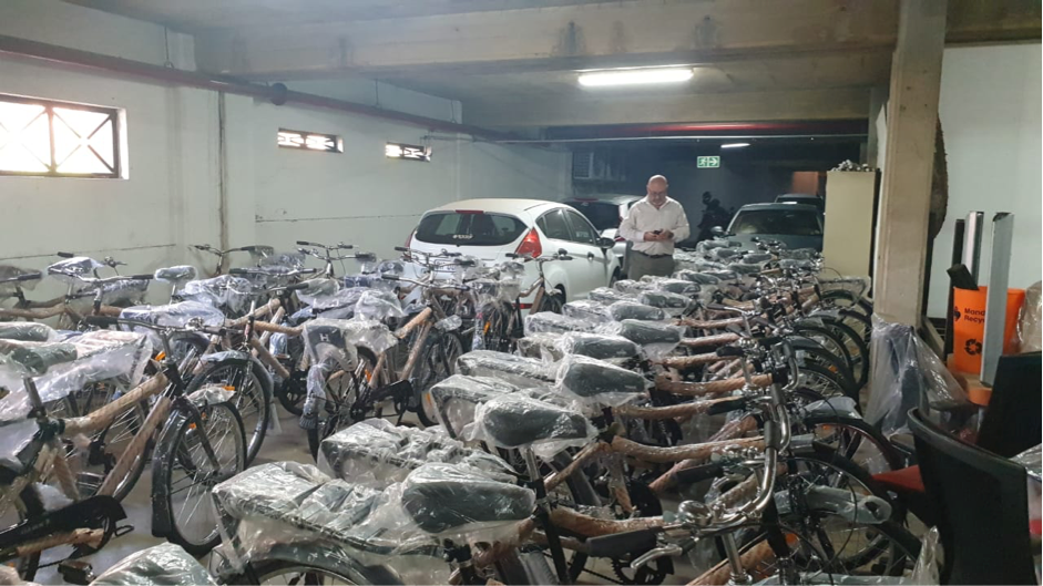 50 #BIKES4ERP have arrived