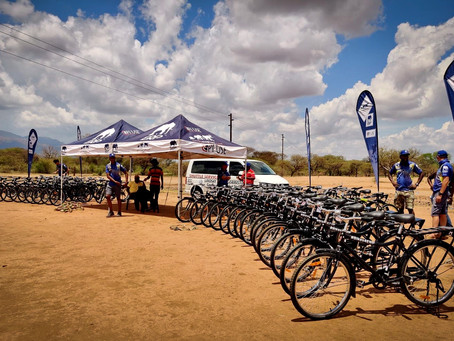 50 #BIKES4ERP bicycles being delivered this Saturday