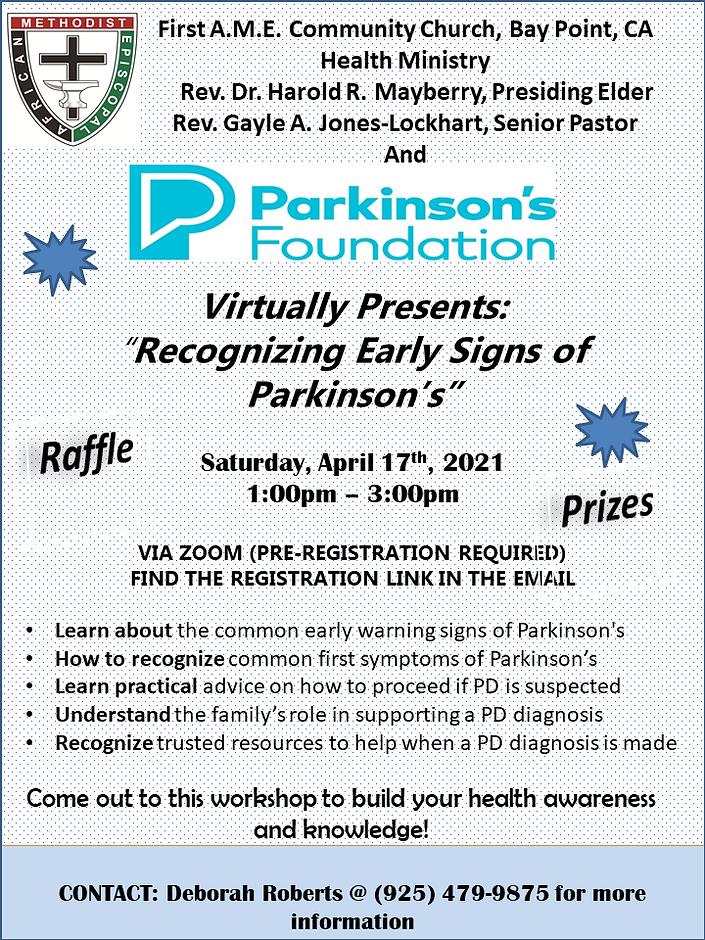 Parkinson's_Workshop_Flyer April 17 2021