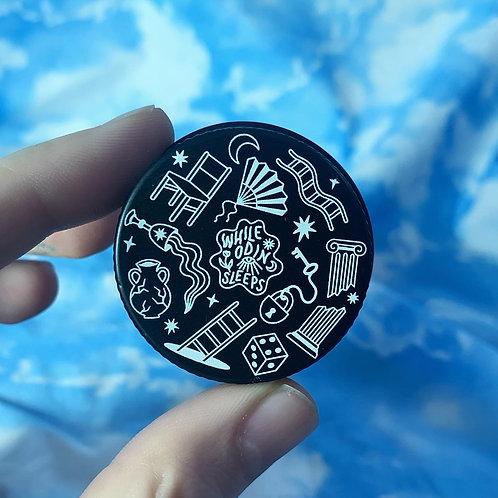 Black Tin Case