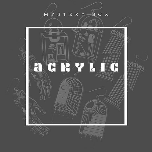 Acrylic Mystery Box