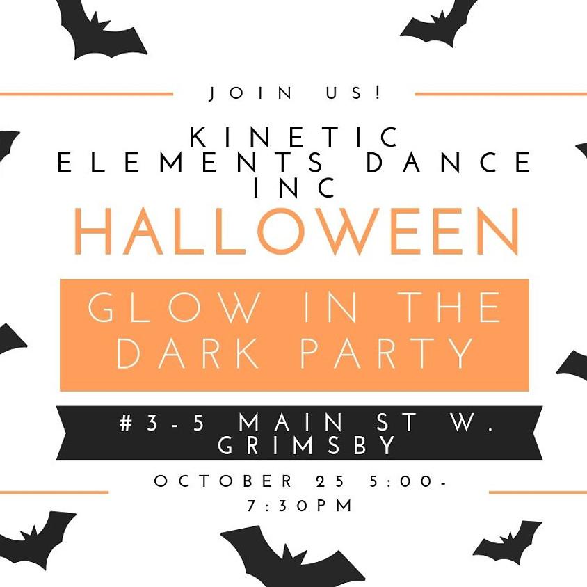 Glow in the Dark Halloween Costume Party