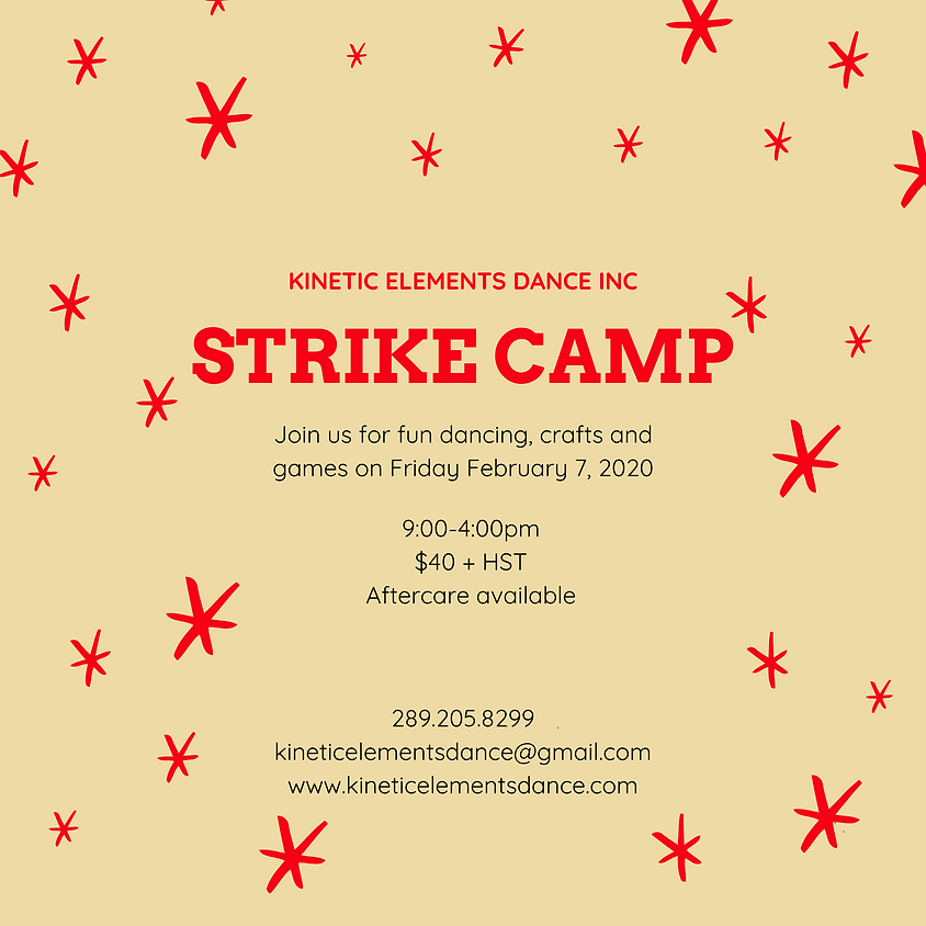 Friday Strike Dance Camp