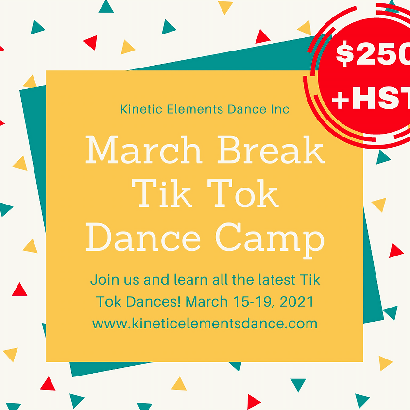 March Break Tik Tok Dance Camp