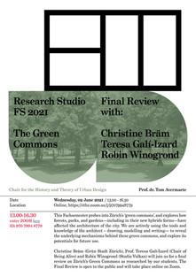 Research Studio Spring 2021