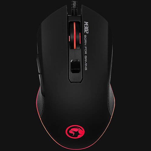 MOUSE GAMER MARVO M302 USB 3200DPI 6D