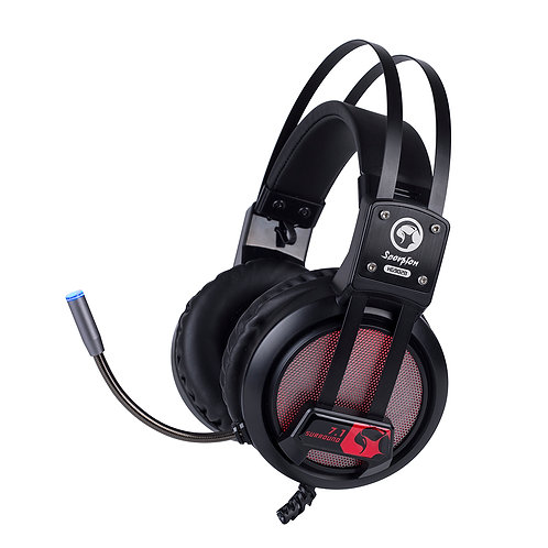 HEADSET GAMER MARVO H9028 C/MIC USB