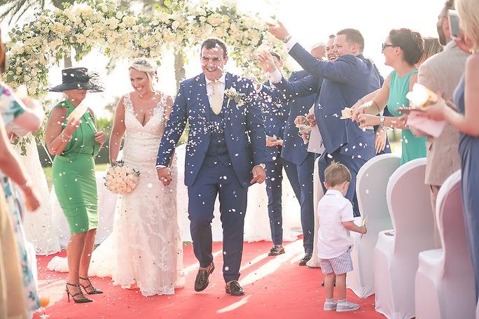 Wedding ceremony in Dubai. Contact VIP Weddings Dubai