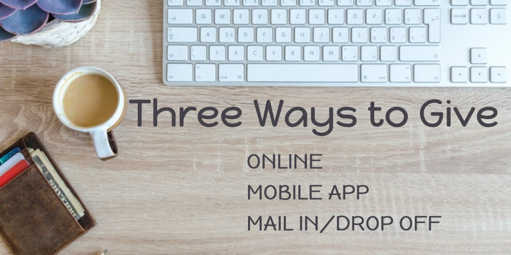 Three Ways to Give 3