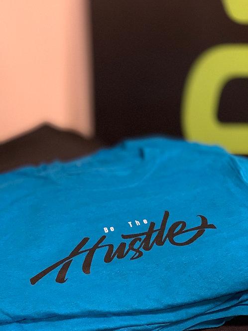 Men's be the hustle/dream poly blend tee