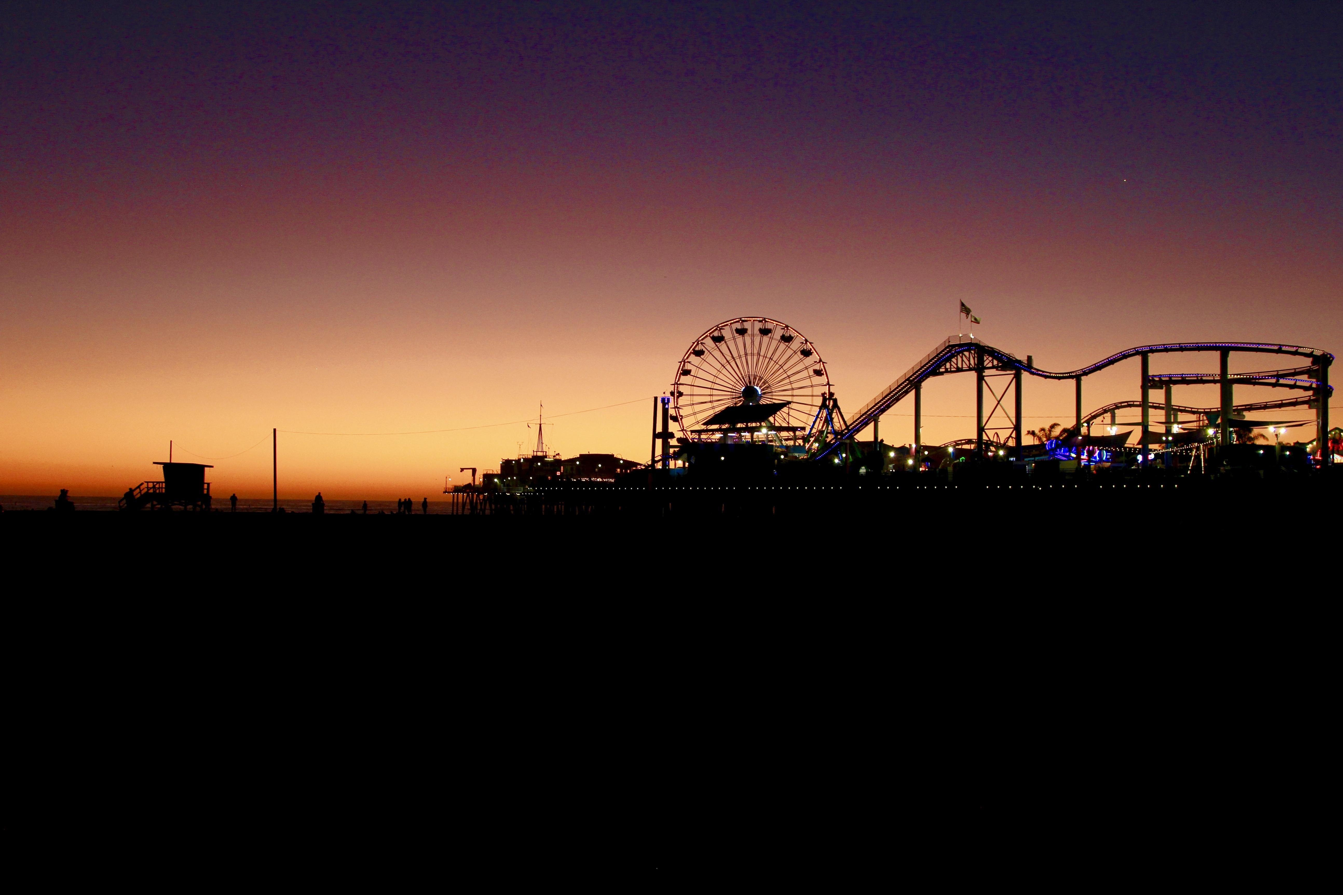 Santa Monica Pier, CA