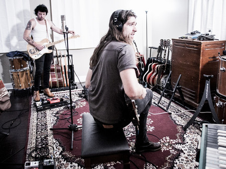 Back in the Studio. Alex.