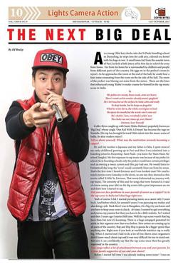 Magazine feature