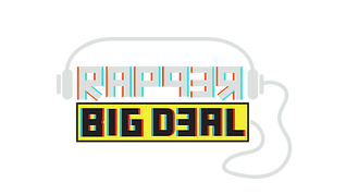 Rapper Big Deal logo inverted.png
