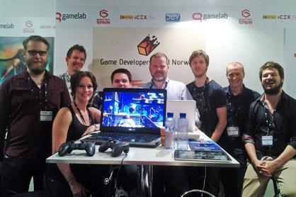 Game Developers Guild (Spillmakerlauget) were present at GameLab 2014 Ole Helland, Tom Jøran Sønstebyseter Rønning, Natascha Röösli, Bjarte Hansen, Bjarne Rene, André Lincoln Read, Erlend Sogge Heggen, Mattis Delerud