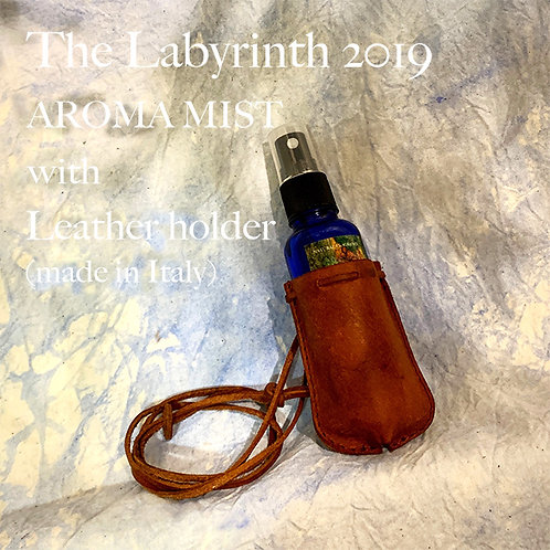 【完売しました】The Labyrinth 2019 Aroma Mist with Leather holder(made in Italy)