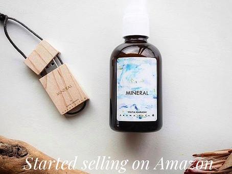 """Amazonにて販売開始!「音と香り」のコラボWATA IGARASHI""""MINERAL"""""""