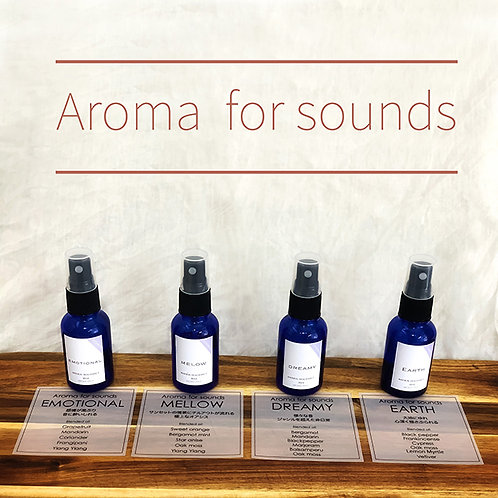 Aroma for sounds 30ml  <音×香り>