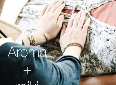 *Aroma+reiki:Aroma Mist 30ml付きセッションスタート