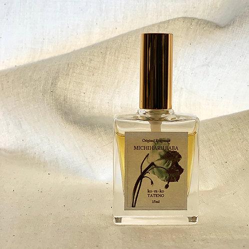 001  MICHIHARU BABA*Original fragrance 15ml with 馬場作品4Set