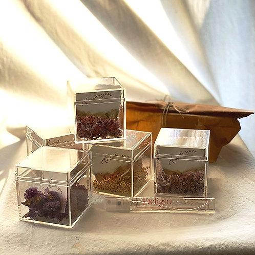 【完売しました】Fragrance & Aroma Flower Box (メッセージカード付き)