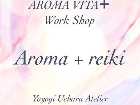 *Work Shop Aroma+reiki:Aroma Mist 30ml付き
