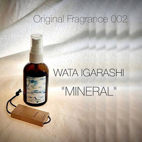 """【限定100セット】Original Fragrance 002 """"WATA IGARASHI:MINERAL"""" Aroma Mist 60m"""