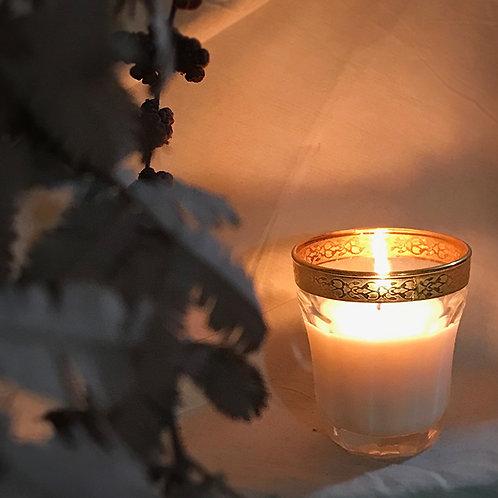 【完売しました】Aroma soy candle(コットンポーチ付き)