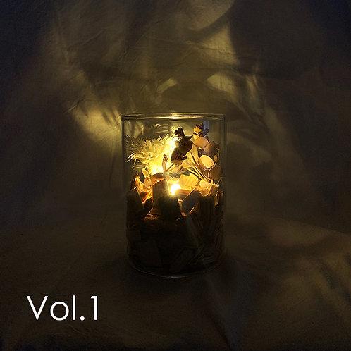 Type D:Aroma Lamp Bottle / (LEDライト付き)