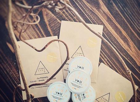 *NATURAL BALM MORI&HANA予約販売開始!!