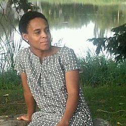 Sharon near Mirror Lake